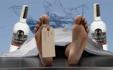 Russians Find A Way To Drink Vodka With A Usb Glass by Dead Russian Wakes Up In Morgue Goes To Drink Vodka