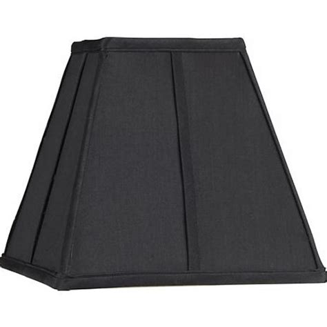 Black Square L Shades by Square Black L Shade 5 25x10x9 5 Spider 39970 Www Lsplus