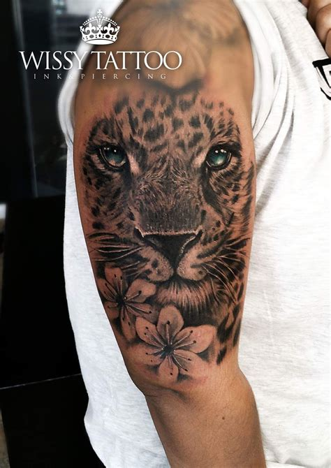 leopard tattoo leopard by manulopez wissy ideas