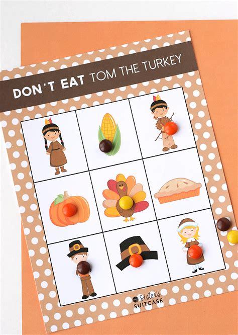 printable turkey game 25 super fun thanksgiving ideas eighteen25