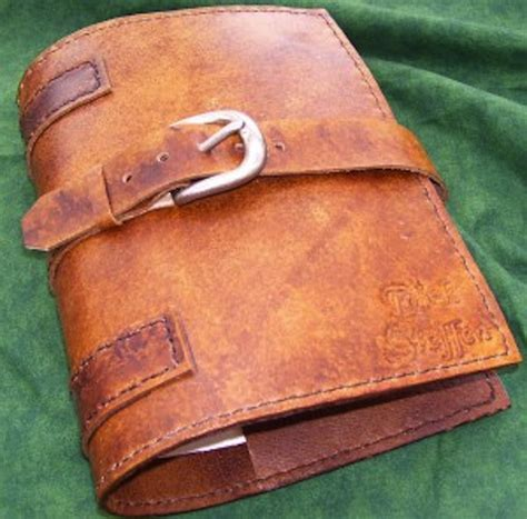 Handmade Leather Book Covers - tooled custom leather book cover 25551 300x296 images
