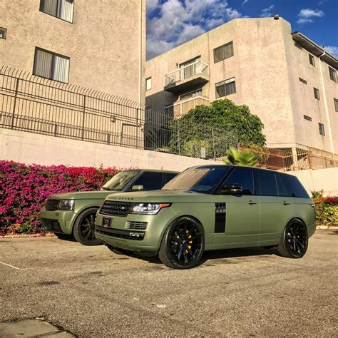 army green range rover rdb la five star tires full auto center complete