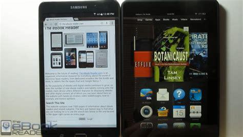 ebook format on samsung tablet 2013 ereader reviews ebook reader comparison kindle vs