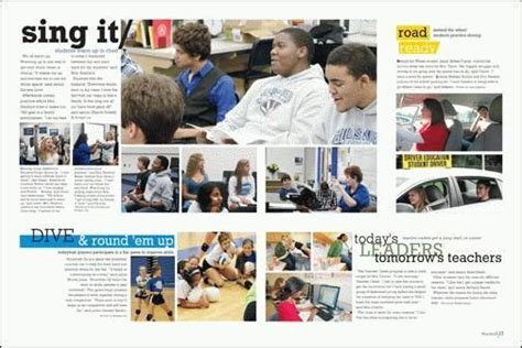 teaching yearbook layout design 17 best images about yearbooks page design on pinterest