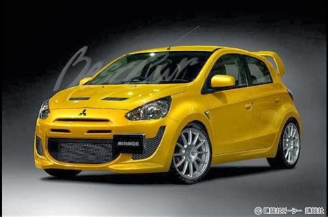 mitsubishi mirage evo unobtanium seven hatchbacks that should exist