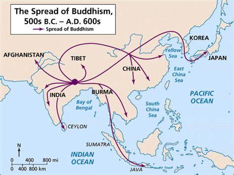sections of buddhism spread of buddhism sheryl mathew