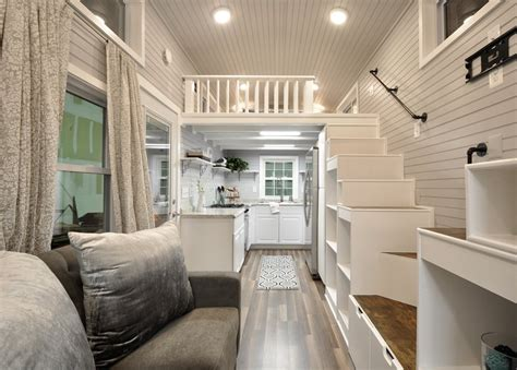 elegant kate tiny home  wheels  tiny house