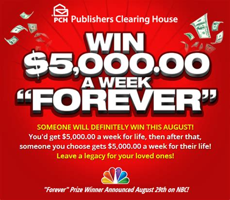 Publishers Clearing House Contest - enter to win in the publishers clearing house sweepstakes