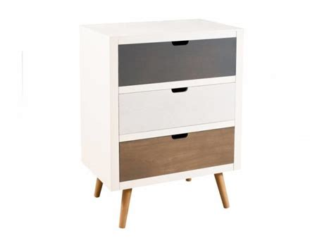 Commode Grise Conforama by Commode 6 Tiroirs Conforama Commode Blanche Et Grise Cm