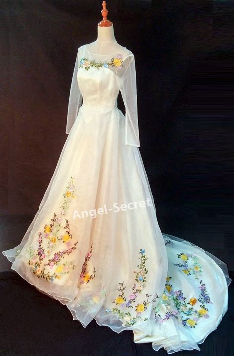 Cinderella Dress 9 cinderella dress cinderella wedding dress blue white