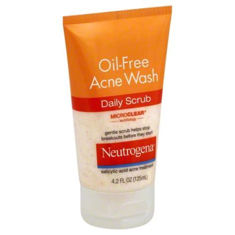 Acne Cleanser Scrub Beta Plus neutrogena acne wash free scrub 4 2 oz