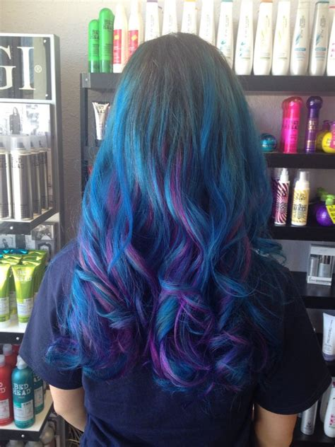 color brilliance purple aqua and radiant orchid from ion color brilliance blue