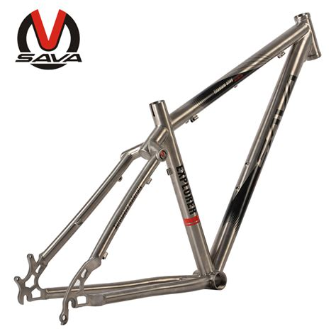 Sepeda Sava 27 5inch Mountain Bike Mtb Titanium Alloy Frame Shimano 3 buy carbon complete bicycle 29er mountain bike 15 17 19 inch sospensione bici twohua store
