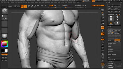 zbrush realistic tutorial دانلود فیلم آموزش creating hyper realistic characters in