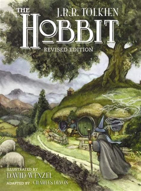 libro art work revised the hobbit comics adapted by chuck dixon and illustrated by david wenzel