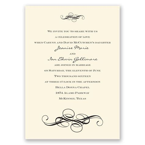 Fancy Wedding Invitations by Fancy Flourishes Invitation Invitations By