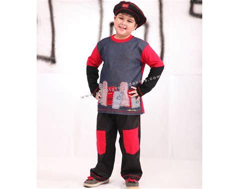 Baju Muslim Laki Terbaru 15 model baju muslim dannis anak laki laki dan perempuan