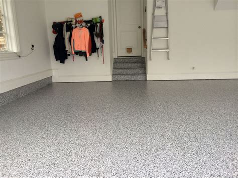 Garage Floor Coating Virginia Adding Some Finishing Touches After The Epoxy Garage Floor