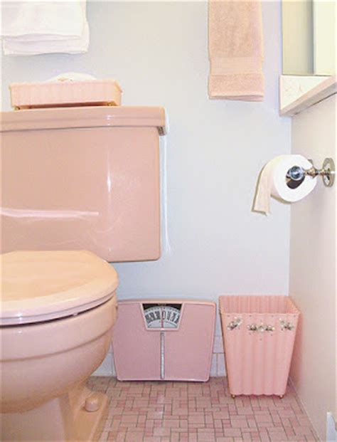 pink bathroom fixtures history s dumpster coloured toilet paper