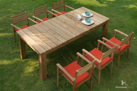 Teak Patio Dining Sets Teak Furnitures Correct Way To Teak Wood Patio Furniture Set