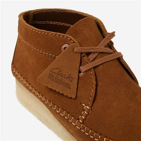 Shoes Clarks Boots Brown clarks weaver boot in brown for lyst