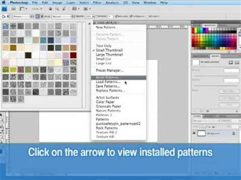 photoshop pattern how to install how to download and install photoshop patterns from