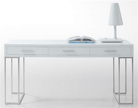 desks white mix and chic fabulous finds modern white desks in every