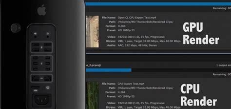 adobe premiere pro gpu rendering mac pro cpu vs gpu rendering with adobe premiere mac heat