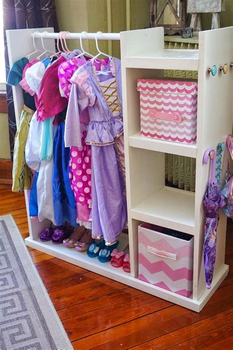 dress up rooms and houses diy dress up storage center