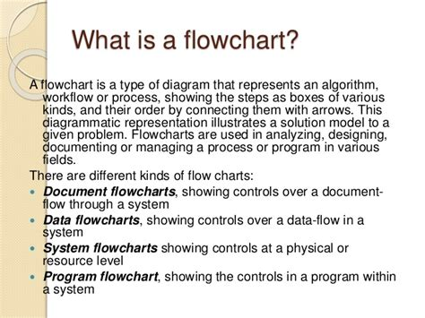 flowcharts definition introduction to flowcharts micro and macro flowchart