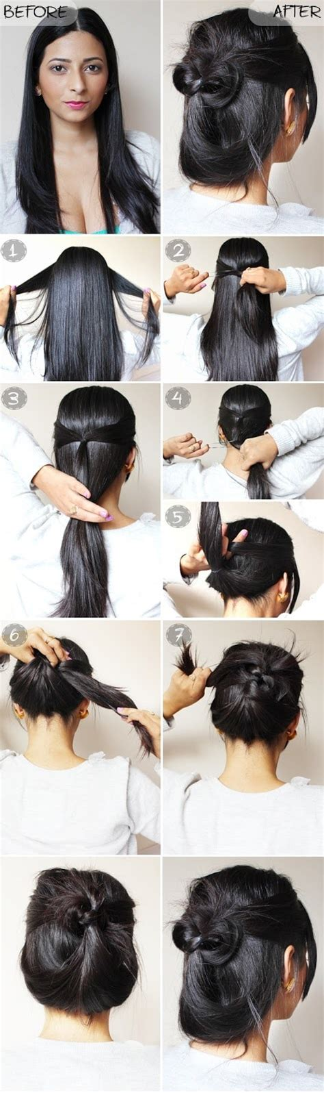 quick easy casual hairstyles ideas 11 best diy hairstyle tutorials for your next going out