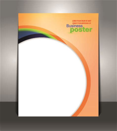 design large poster online creative business poster design vector free vector in