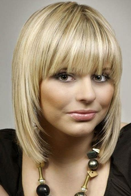 hairstyles with fringe shoulder length medium haircuts with fringe