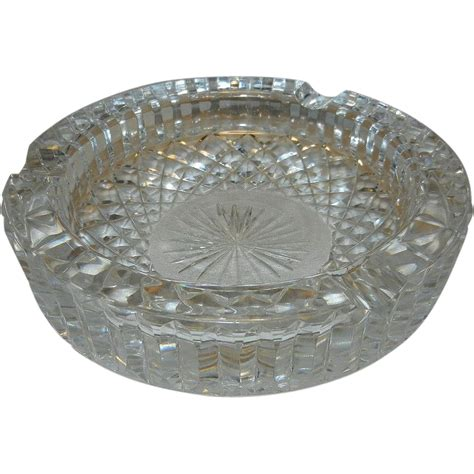 Antique Waterford Ls by Vintage Waterford Ashtray From Mygrandmotherhadone