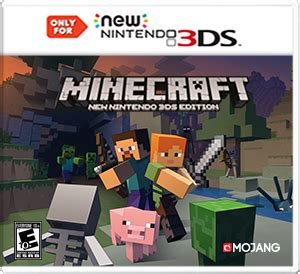 Minecraft Gift Cards Now Available In The Us News Mod Db - minecraft new nintendo 3ds edition for 3ds buy cheaper in official store