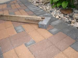 Installing Patio Pavers How To Install A Paver Patio