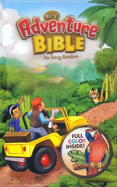 nirv adventure bible for early readers hardcover color interior books sale adventure bible for early readers nirv lenticular