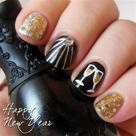 nail for new year 2015 15 best happy new year nail designs ideas