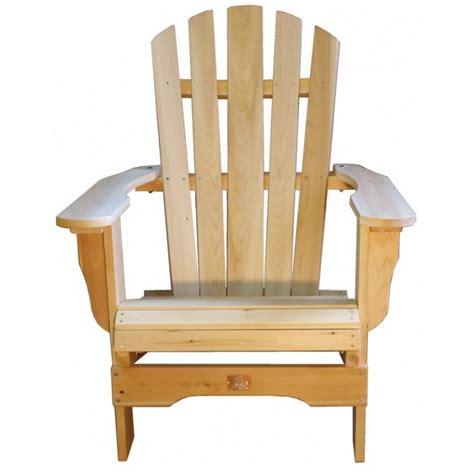 fauteuil adirondack fauteuil de jardin en bois muskoka
