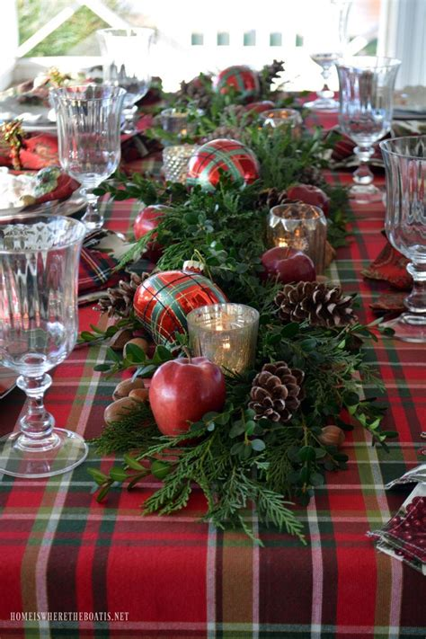 holiday runner ideas best 25 tartan christmas ideas on pinterest country