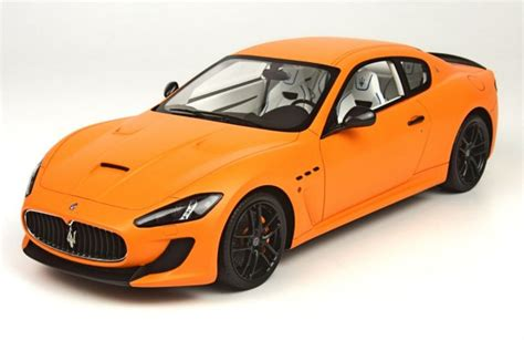 orange maserati top marques 1 18 maserati mc granturismo orange yellow