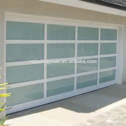 Glass Garage Doors Cost Modern Aluminum Frame View Glass Panel Garage Door Prices Buy Glass Garage Door Prices