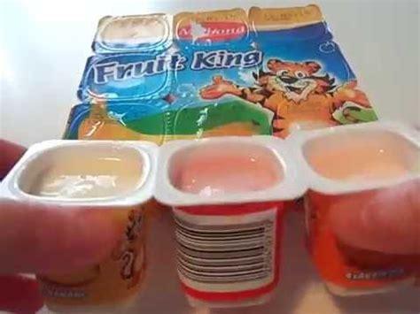 fruit king fruchtzwerge go sag ja vs milbona fruit king joghurt