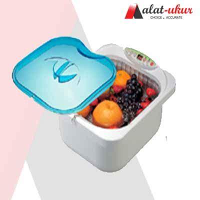Buah Anggur Silver pengukur buah dan sayuran ultrasonic cleaner digital bm 0598