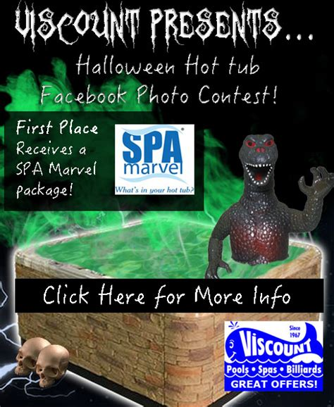 Hot Tub Giveaway - october photo hot tub contest from viscount west