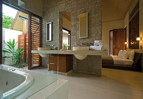 bedroom attached bathroom design romantic bedrooms with attached open bath decozilla