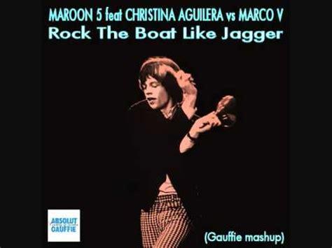rock the boat mashup maroon 5 feat christina aguilera vs marco v rock the