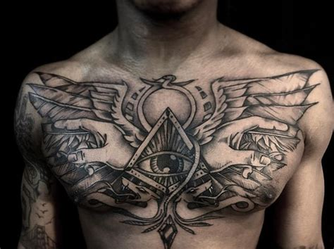 egyptian chest tattoos tattoos to style your