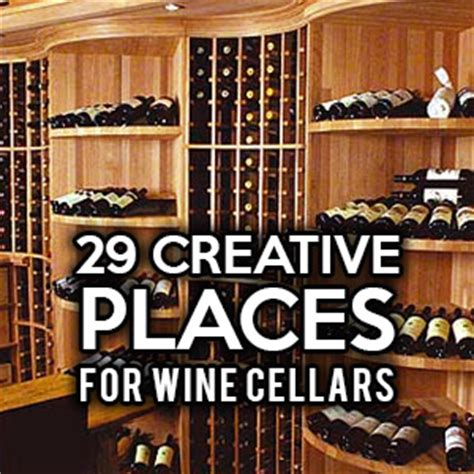 Kitchen Cabinet Designs For Small Spaces 29 creative places for wine cellars and racks in your home