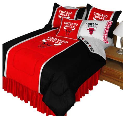 basketball twin bedding nba chicago bulls comforter pillowcase basketball bedding